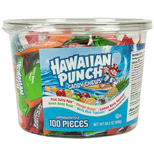 Hawaiian Punch Chews Tub .282 Ounce 100 Count