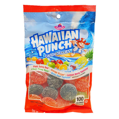 Hawaiian Punch Jellies 3.5 Ounce 12 Count Peg Bag