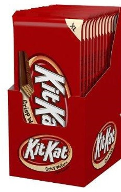 Kit Kat Candy Bar Extra Large 4.5 Ounce 12 Count