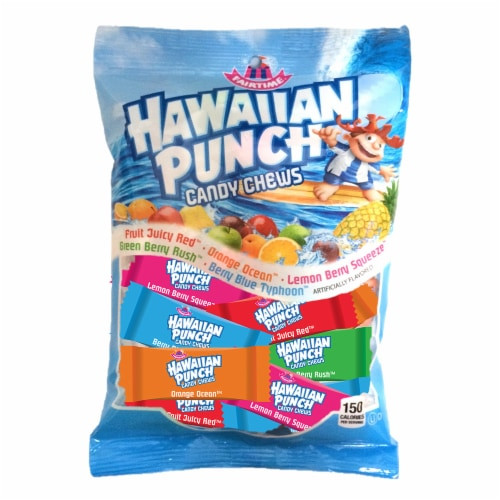 Hawaiian Punch Chews 7 Ounce 12 Count Peg Bag