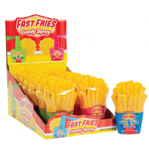 Fast Fries Candy Spray 0.67 Ounce 12 Count
