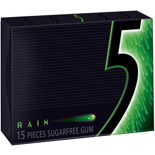 5 Rain 15 Piece 10 Count Green Pack