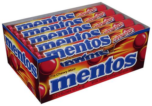 Mentos Rolls Cinnamon 15 Count