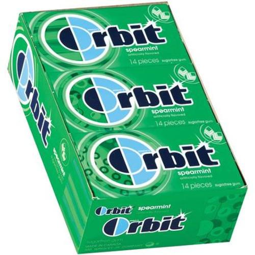 Orbit Spearmint 14 piece 12 Count