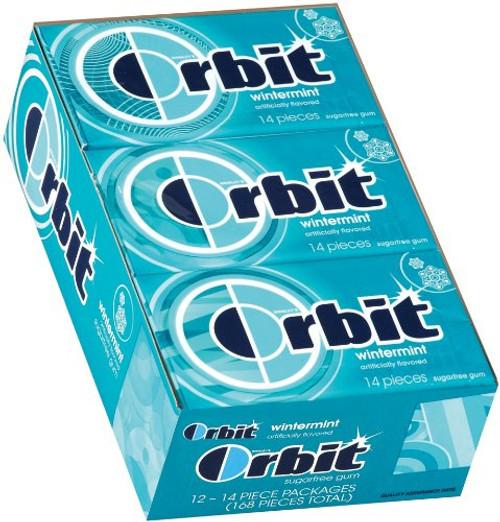 Orbit Wintermint 14 piece 12 Count