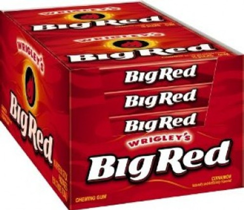 Wrigley Big Red Plenty Pack 15 Piece 10 Count