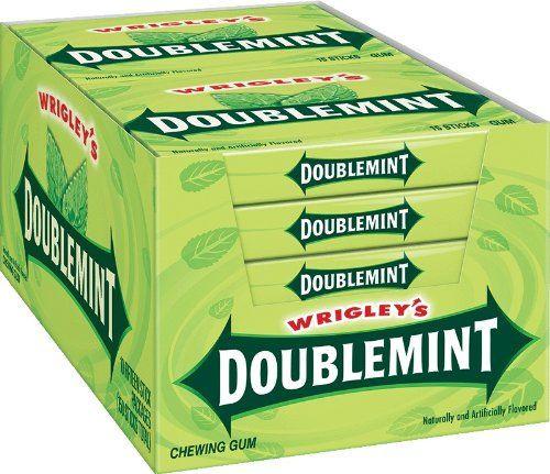Wrigley Doublemint Plenty Pack 15 Piece 10 Count