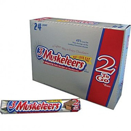 3 Musketeers Candy Bar King Size 2.13 Ounce 24 Count