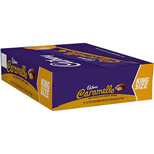 Caramello Candy Bar King Size 18 Count