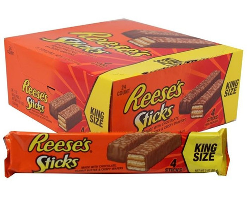 Reese's Sticks Candy Bar King Size 24 Count