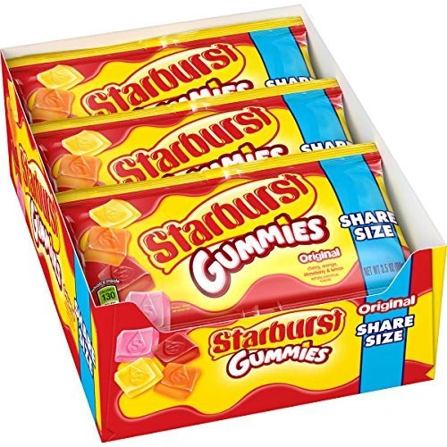Starburst Gummies Original King Size 3.5 Ounce 15 Count
