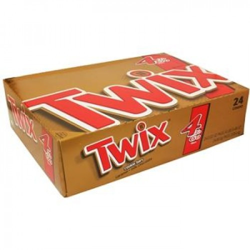 Twix Caramel Candy Bar King Size 3.02 Ounce 24 Count