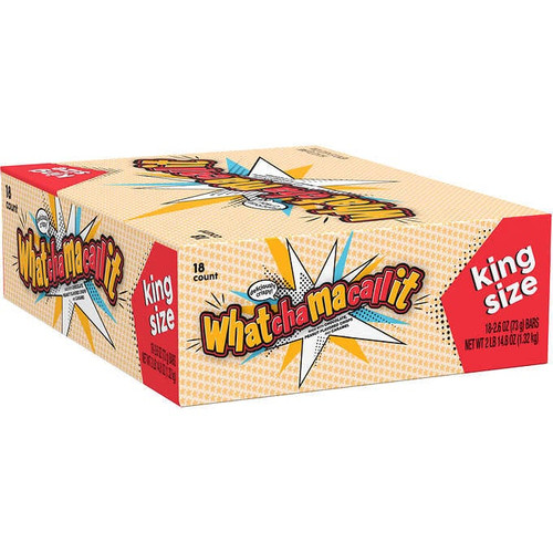 Whatchamacallit Candy Bar King Size 2.6 Ounce 18 Count