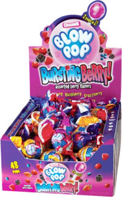 Blow Pops Bursting Berry 48 Count