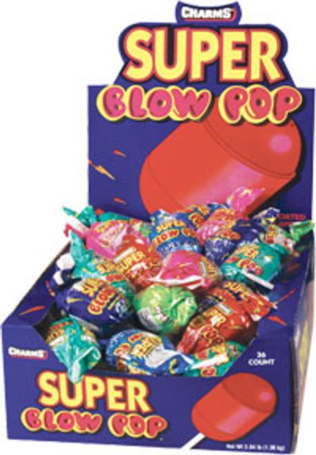 Super Blow Pops Assorted 48 Count