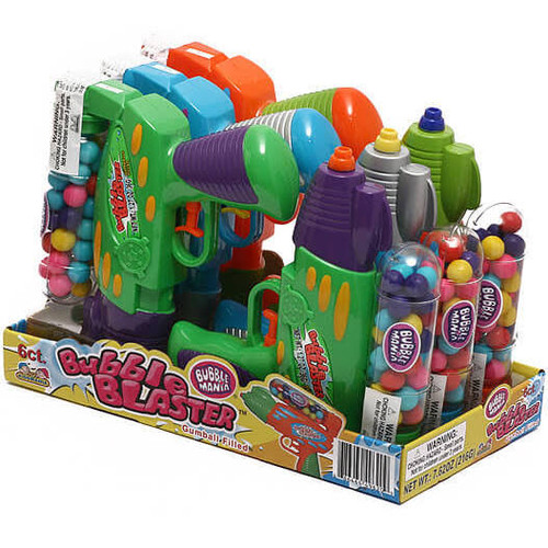Bubble Blaster Squirt Gun Gumball Filled 1.27 Ounces 6 Count