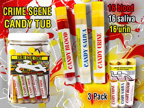 Crime Scene Candy 0.28 Ounces 48 Count