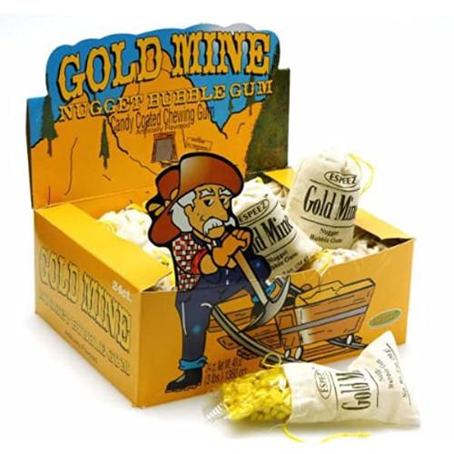 Gold Mine Gum 2 Ounces 24 Count