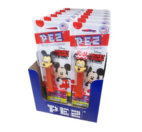 Pez Disney Mickey Asst Blister Card 12 Count