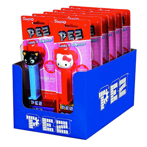 Pez Hello Kitty Blister Card 12 Count