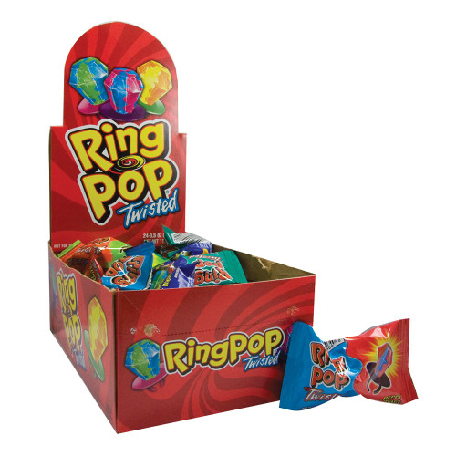 Ring Pop Twisted 24 Count