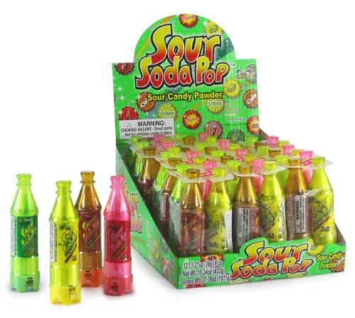 Soda Pop Sour 1.27 Ounces 12 Count