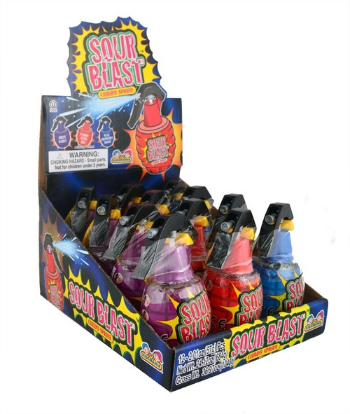 Sour Blast Sour Spray Liquid Candy 2.01 Ounces 12 Count