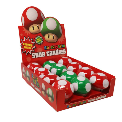 Super Mario Mushroom Sours 1 Ounce 12 Count