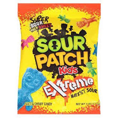 Sour Patch Extremes 4 Ounce 12 Count Peg Bag