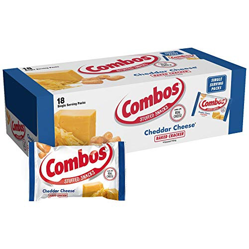 Combos Cheddar Cheese Cracker 18 Count