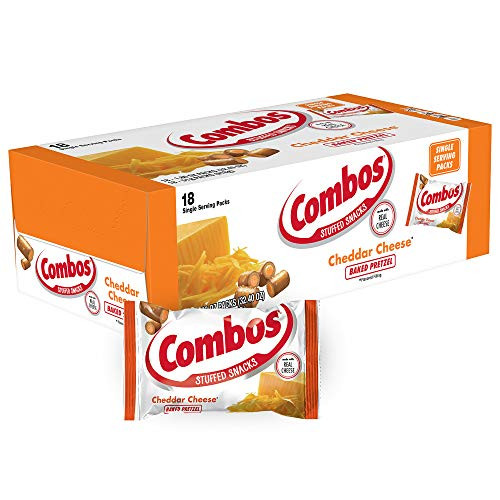 Combos Chedder Cheese Pretzel 18 Count