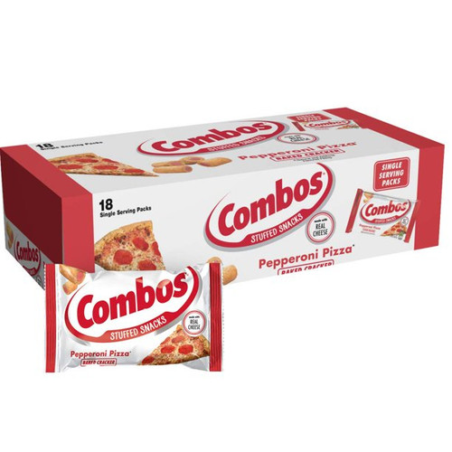 Combos Pepperoni Pizza 18 Count