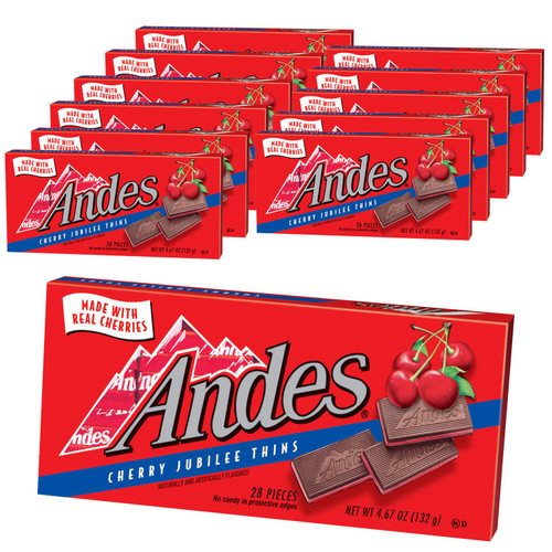 Andes Mint Cherry Jubilee 4.67 Ounce 12 Count Theatre Box