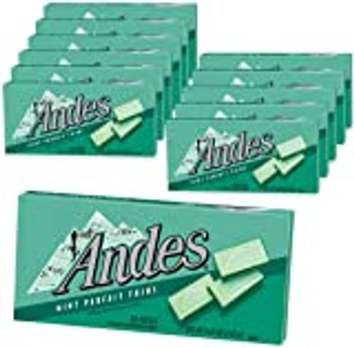 Andes Mint Mint Parfait 4.67 Ounce 12 Count Theatre Box