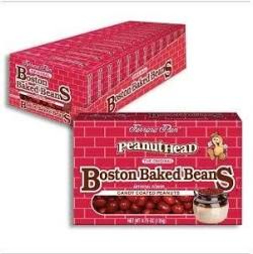 Boston Baked Beans Theatre Box 4.3 Ounce 12 Count