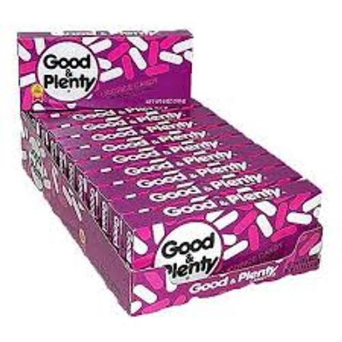 Good & Plenty 6 Ounce 12 Count Theatre Box