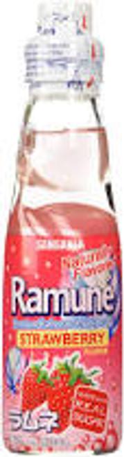 Ramune Soda Strawberry 6.76 Ounce 30 Count