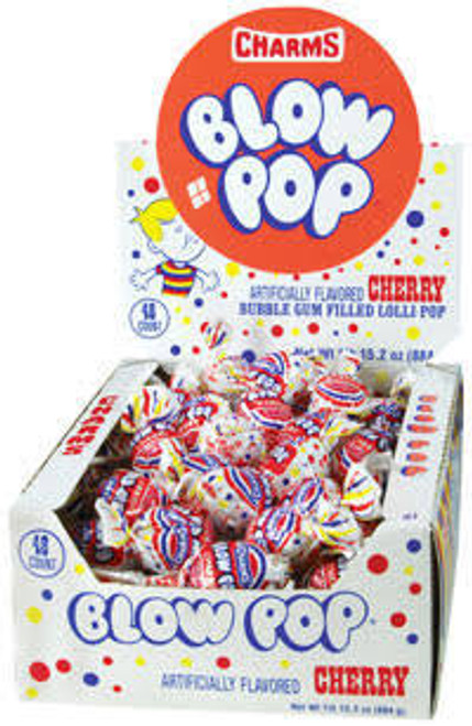 Blow Pops Cherry 48ct