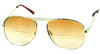 Aviator Bifocal Reading Glasses with a tint