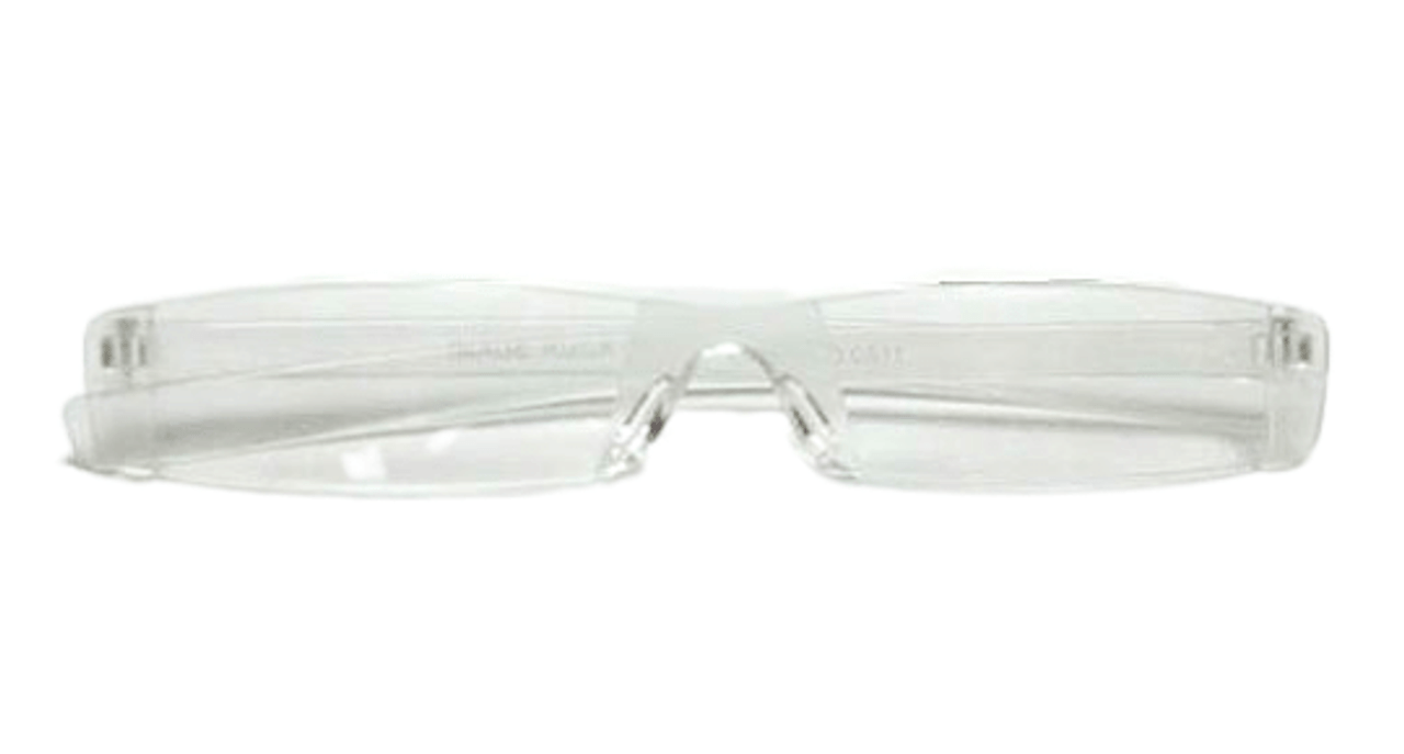 Clear acrylic readers with clear case