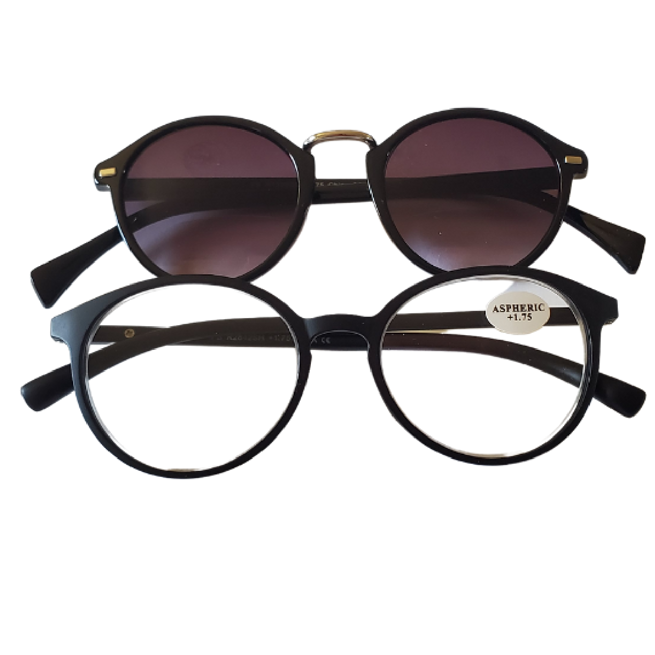 Bifocal Sun-reader with Matching Reading Glasses