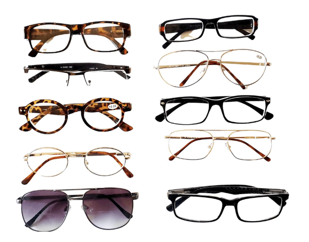Assorted Reading Glasses for Men