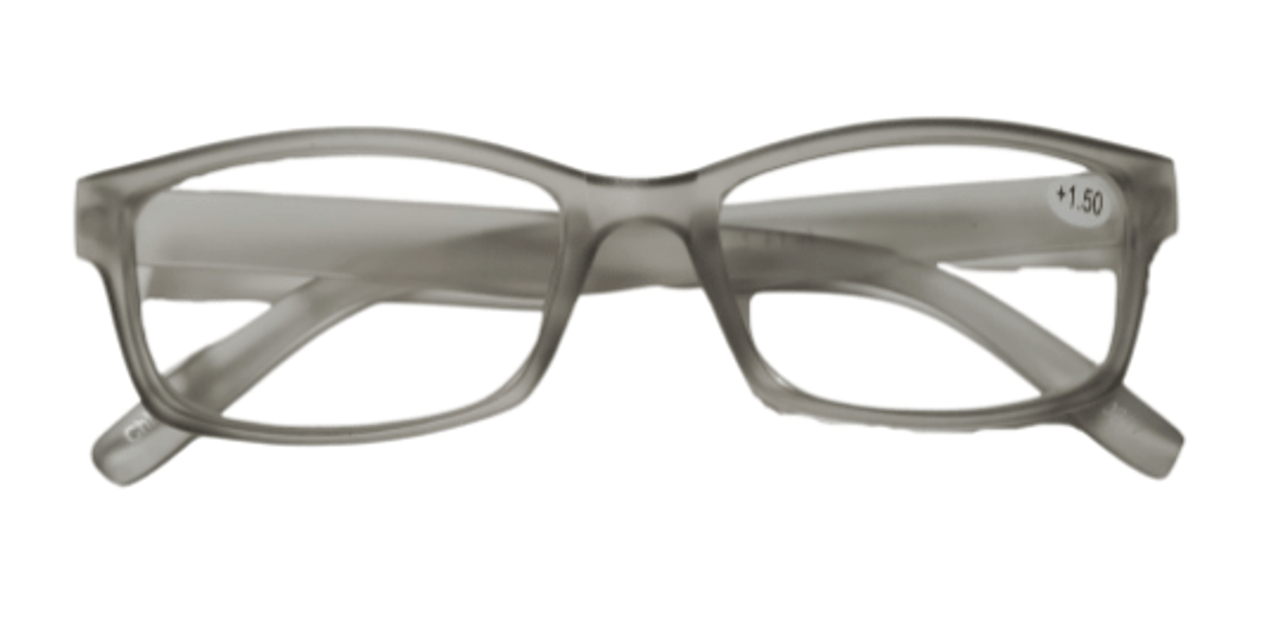 Frosted Small Wayfarer Reading Glasses