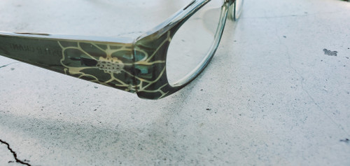 Gold and Turquoise Reading Glasses in +1.50