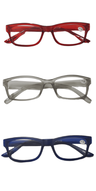 Red White and Blue Reading Glasses