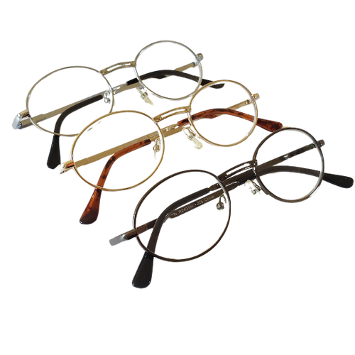 Oval Reading Glass Pack