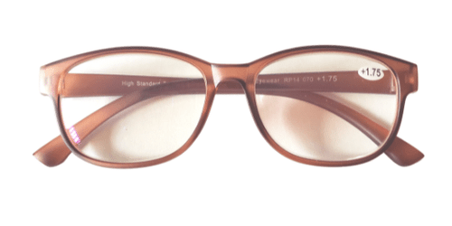 Jelly Brown Reading Glasses