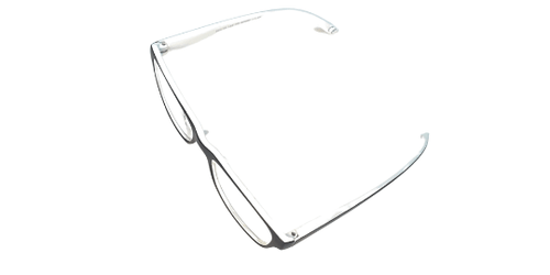 White and Black Bubble Readers