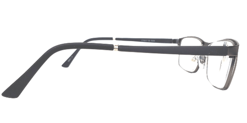 Rubber Temple Grey Reading Glasses
