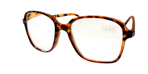 Angled View of the Full Frame High Magnification Reading Glasses